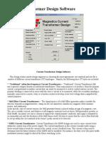 Current Transformer Design Software