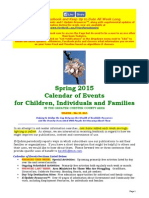 Calendar of Events - May 24, 2015