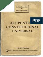 Livro Acupuntura Constitucional Universal