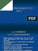 Modelo Pré-projeto Tcc