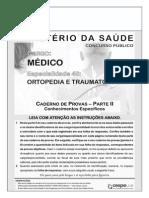 Cespe 2009 Ms Medico-Ortopediatraumatologia Prova