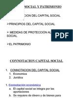 CAPITAL SOCIAL Y PATRIMONIO.