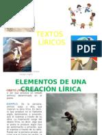 TEXTOS LIRICOS