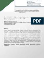 A CONTRIBUIÇÃO DA COMPETÊNCIA RELACIONAL DO EMPREENDEDOR PARA APERFEIÇOAR A QUALIDADE DE RELACIONAMENTO ENTRE EMPRESAS DE BASE TECNOLÓGICA