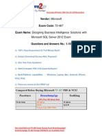 Braindump2go New Updated 70-467 Exam Questions Free Download (1-10)