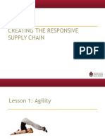 Creating the Responsive Supply Chain