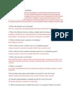P6 Questionaire 1