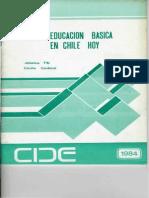 Educacion Basica 1984