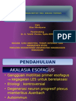 lap. kasus anestesi pada akalasia esofagus