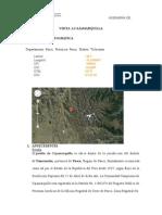 Visita Tecnica a Cajamarquilla