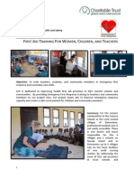 First Aid Training for Women, Children, And Teachers