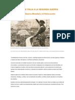 Declaración de guerra a Francia e Inglaterra. -Benito Mussolini-