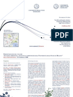 """Presentazione del volume """"Le sfide ambientali. Attività e competenze dell'Università degli Studi di Milano"""""""