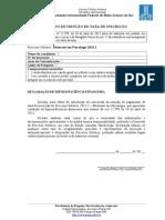 Modelos e Formulários Do Edital
