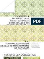 Microtexturas e Microtectônica