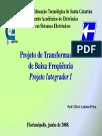 Projeto Transformadores Baixa Frequencia