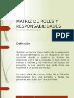 1.1.2 Matriz de Roles y Responsabilidades