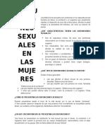 Las Disfunciones Sexuales Son Problemas en La Respuesta Sexual Humana MUJER25
