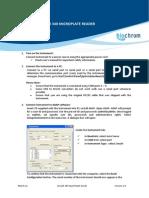 Biochrom Anthos Zenyth 340 Quick Start Guide - Zenyth340-QSG-V2