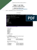 Taller 1 SQL Bases 1
