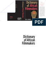 Roy Armes Dictionary of African Filmmakers 2008