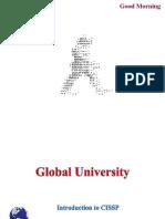 Global University CISSP Introduction