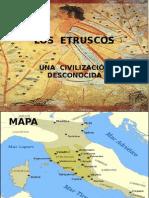LOS  ETRUSCOS Presentación