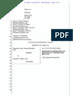 Melendres # 70 | Ps Opp to Motion for Recusal | D.ariz._2-07-Cv-02513_70_