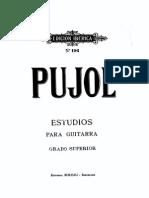 Emilio Pujol - Estudios Para Guitarra (Grado Superior)