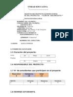 001-Proyecto de Baloncesto .2014- 2015