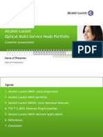 Optical Multi-Service Node Portfolio CP