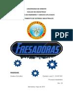 Fresadoras - Procesos Industriales