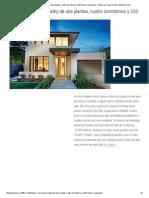 Lujosa Casa Para Country de Dos Plantas, Cuatro Dormitorios y 333 Metros Cuadrados - Planos de Casas Gratis _ DePlanos