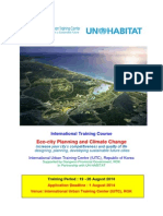 Course Brochure (Eco-city Planning & Climate Change)