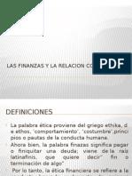 lasfinanzasylarelacionconlaetica-121108230932-phpapp01.pptx