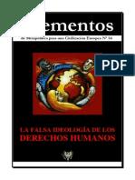 Elementos Nº 54. Derechos Humanos