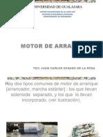 Motores de Arranque Con Solenoide Integrado y Separado