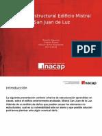 Analisis No Estructura San Juan de La Luz
