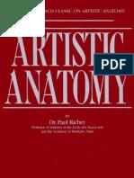 Artistic Anatomy -Paul Richer