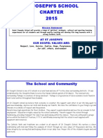 Saint Josephs Taihape Charter 2015