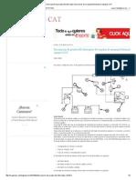 Descripción de Prueba Del Interruptor Del Auxiliar de Arranque_Solenoide en Equipos CAT