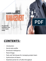 Project Human Resource Management GrP1