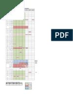 Calender Schedule - Cluster Schedule Pro ELT 3 EGrad