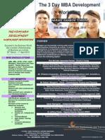 The 3 Day MBA Development Workshop
