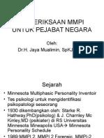 Presentasi MMPI