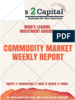 Commodity Report Ways2Capital 25 May 2015