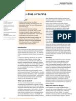 Urinary Drug Screening