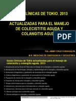 Tg2013 Colecistitis y Colangitis