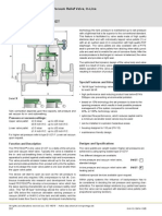 Inline Vacuum and Pressure Relief Valve