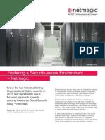Fostering a Security Aware Environment Netmagic